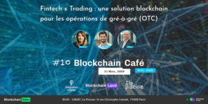 Fragmos Chain invited at La Piscine for the Blockchain Café
